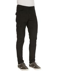 J Brand Jeans Trooper Cargo Twill Pants Black