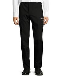 Maison Margiela Slim Fit Cargo Pants Black