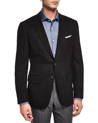 Black Cashmere Blazer