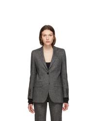 Burberry Black Melange Sidon Jacket