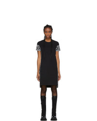 Kenzo Black Logo T Shirt Dress