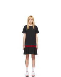 Opening Ceremony Black Oc Logo T Shirt Dress