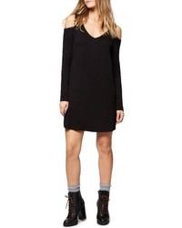 Morgan cold shoulder t shirt dress medium 4952647