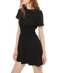 Smocked corset t shirt dress medium 3944262