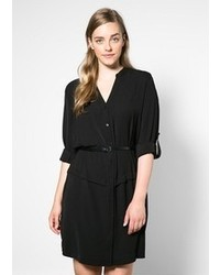 Violeta BY MANGO Belt Shirt Dress