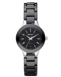 DKNY Watch Black Ceramic Bracelet Ny4887