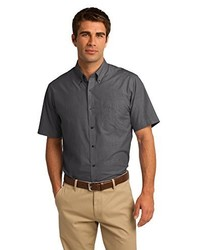 Port Authority Short Sleeve Crosshatch Easy Care Shirt