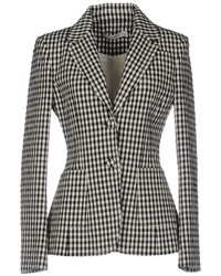 Black Check Blazer