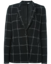 Paul Smith Ps By Checked Print Blazer