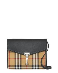 Burberry Baby Macken Vintage Check Crossbody Bag