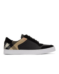 Burberry Black House Check New Reeth Sneakers
