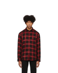 Diesel Black And Red Marlene C Shirt