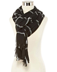 jcpenney Cashmere Like Windowpane Oblong Scarf