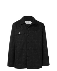 MAISON KITSUNÉ Check Shirt Jacket