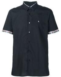 Raf Simons Checked Detail Shortsleeved Shirt