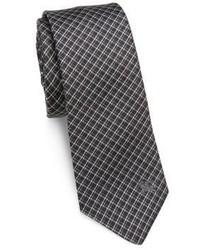 Burberry Checked Silk Tie