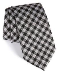 ... Nordstrom Shop Check Silk Wool Tie 3a507c8416c