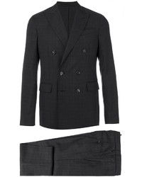 Double breasted windowpane suit medium 5205153