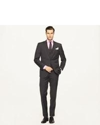Black Check Three Piece Suit