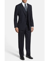 English Laundry Trim Fit Three Piece Suit