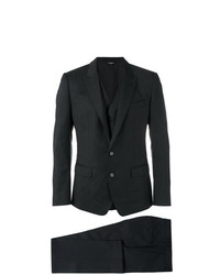 Dolce & Gabbana Three Piece Checked Suit