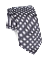 Emporio Armani Plaid Silk Tie