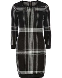 Dorothy Perkins Black Check Knitted Tunic