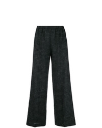 Aspesi Check Flared Trousers