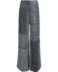 Jason Wu Checked Wide Leg Trousers