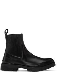 Kenzo Black Chelsea Boots
