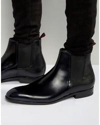 Hugo Boss Boss Hugo By Dressapp Rub Off High Shine Chelsea Boots