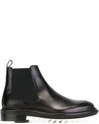 Lanvin Ridged Sole Chelsea Boots