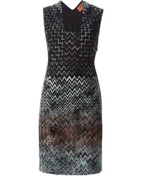 Missoni Chevron Pattern Dress