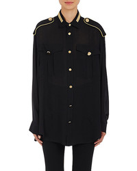 Givenchy Military Blouse