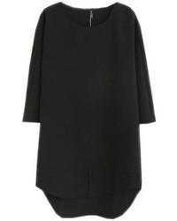 Choies black shift basic dress medium 76724