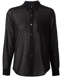 Theory Sheer Blouse