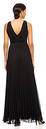 4f216b80d5f7 Xscape Evenings Xscape Pleated Chiffon Gown, $238   Dillard's    Lookastic.com