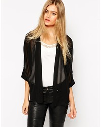 Asos Collection Kimono With Tab Detail
