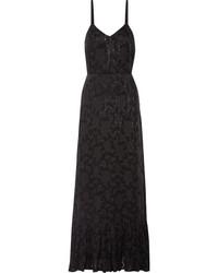 Fil up chiffon maxi dress black medium 4393860