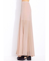 ... Forever 21 Must Have M Slit Maxi Skirt ...