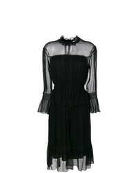 See by Chloe See By Chlo Long Sleeved Chiffon Dress