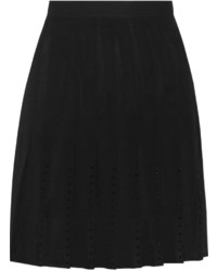 Sandro Josiane Pleated Chiffon Mini Skirt