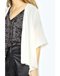 Boohoo Sonia Plain Chiffon Kimono | Where to buy & how to wear