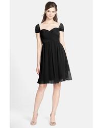 Jenny Yoo Riley Convertible Chiffon Dress