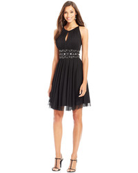 Jessica Howard Keyhole Embellished A Line Dress