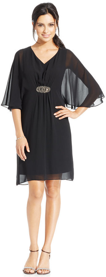 Macy's Cocktail Dresses with Sleeves