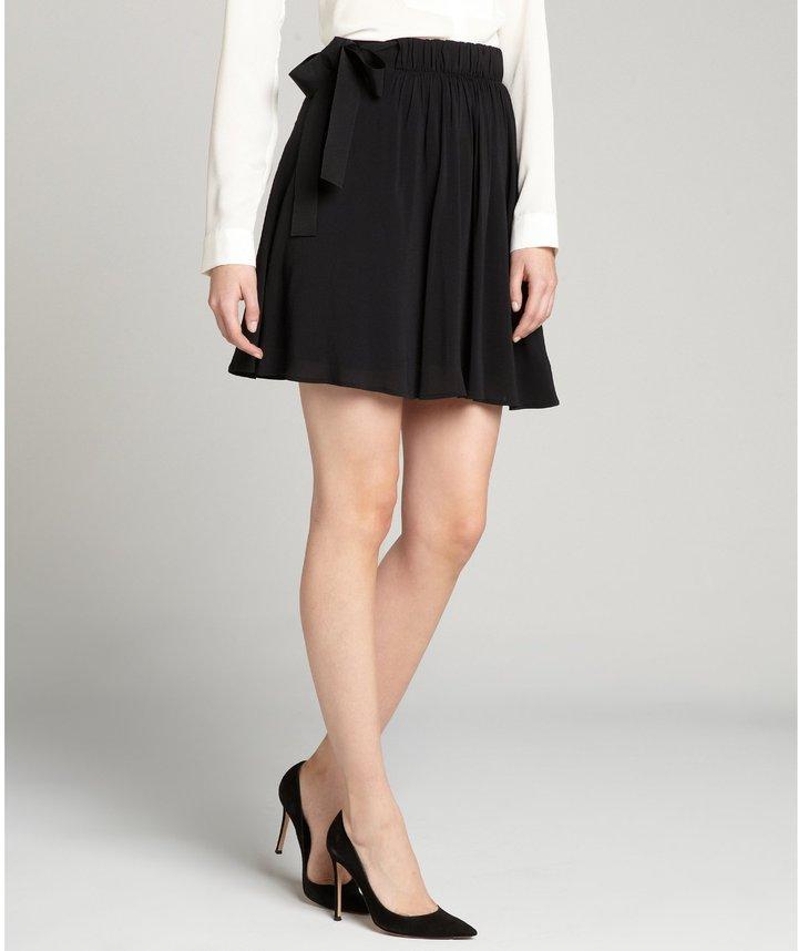 Black mini skirt Valentino Sneakernews Cheap Online Visit New Cheap Online Buy Cheap Purchase UeDUBSsyp