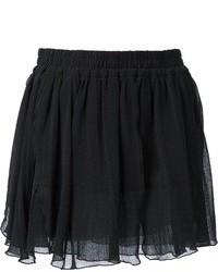 Softly pleated mini skirt medium 23656