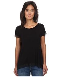Christin michls jersey chiffon tunic blouse medium 560296