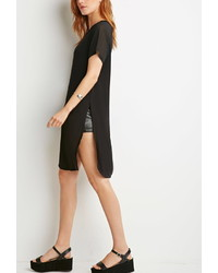 Forever 21 Contemporary Chiffon Sleeve Tunic